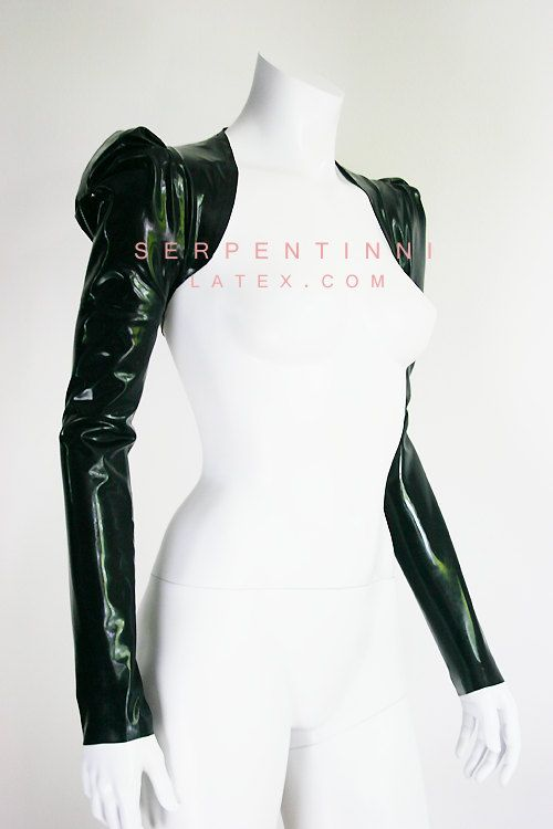 Willa latex bolero by TanjasSerpentinni on Etsy, €57.14