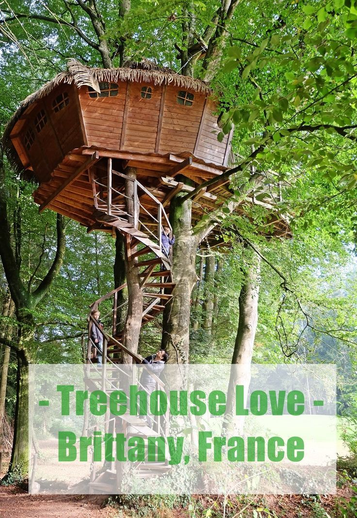 Baumhaus Frankreich treehouse in roadtrip frankreich