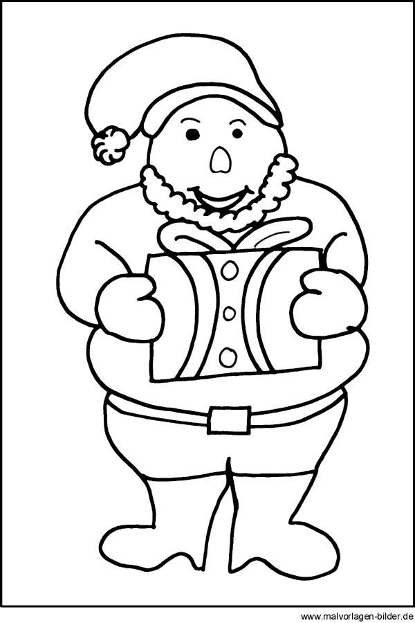 Weihnachtsmann Malvorlagen Ausmalbild Vom Weihnachtsmann Kostenlose Malvorlagen Kostenlose Ausmalbilder Ausmalbilder Malvorlagen