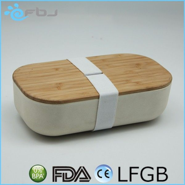 Eco Friendly Bamboo Food Storage Containers With Lids
