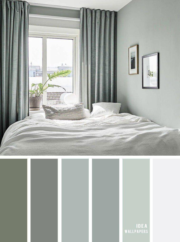 25 beste Farbschemata für Ihr Schlafzimmer Salbei Farbe