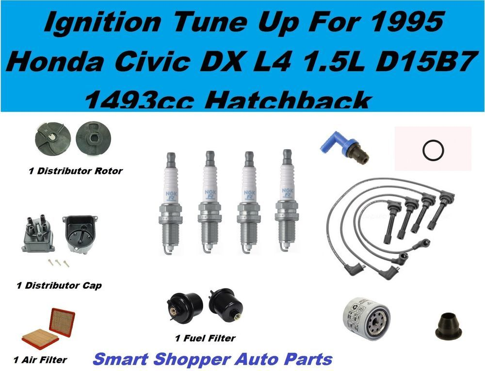 Details About Honda Civic Dx Hatchback Spark Plug Wire Set Oil