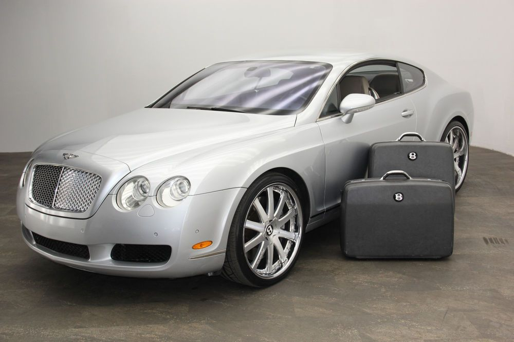 2005 Bentley Continental Coupe With Custom Wheels Luggage 2005 Bentley Continental Gt Bentley Continental Bentley Continental Gt