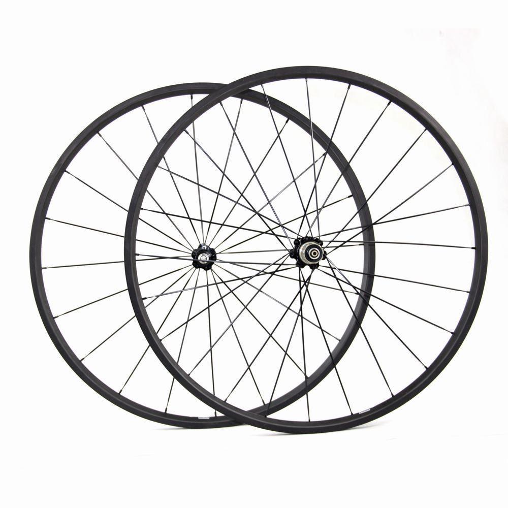 Cheap Bike Wheels High Quality Carbon Road Wheels Carbon 24mm Clincher Wheels 20mm Tubular Bicycle Road Wheels Cheap Bikes Bike Wheel Road Bicycle