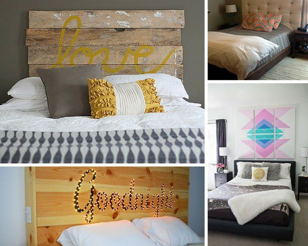 40 DIY Ways to Upgrade Your Bedroom | Brit + Co