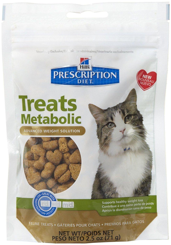 Hill S Prescription Diet Feline Metabolic Advanced Weight Solution Cat Treats 2 5 Oz Bag Cat Shopping Cat Treats Cat Pet Supplies Prescription