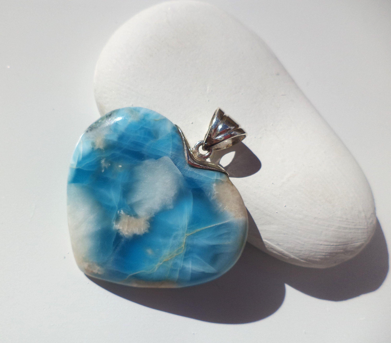 925 Silver Larimar Earrings Original And Genuine Dominican AA Marbled Rectangular Shape Larimar Stones Frenck Hooks Earrings Jewelry