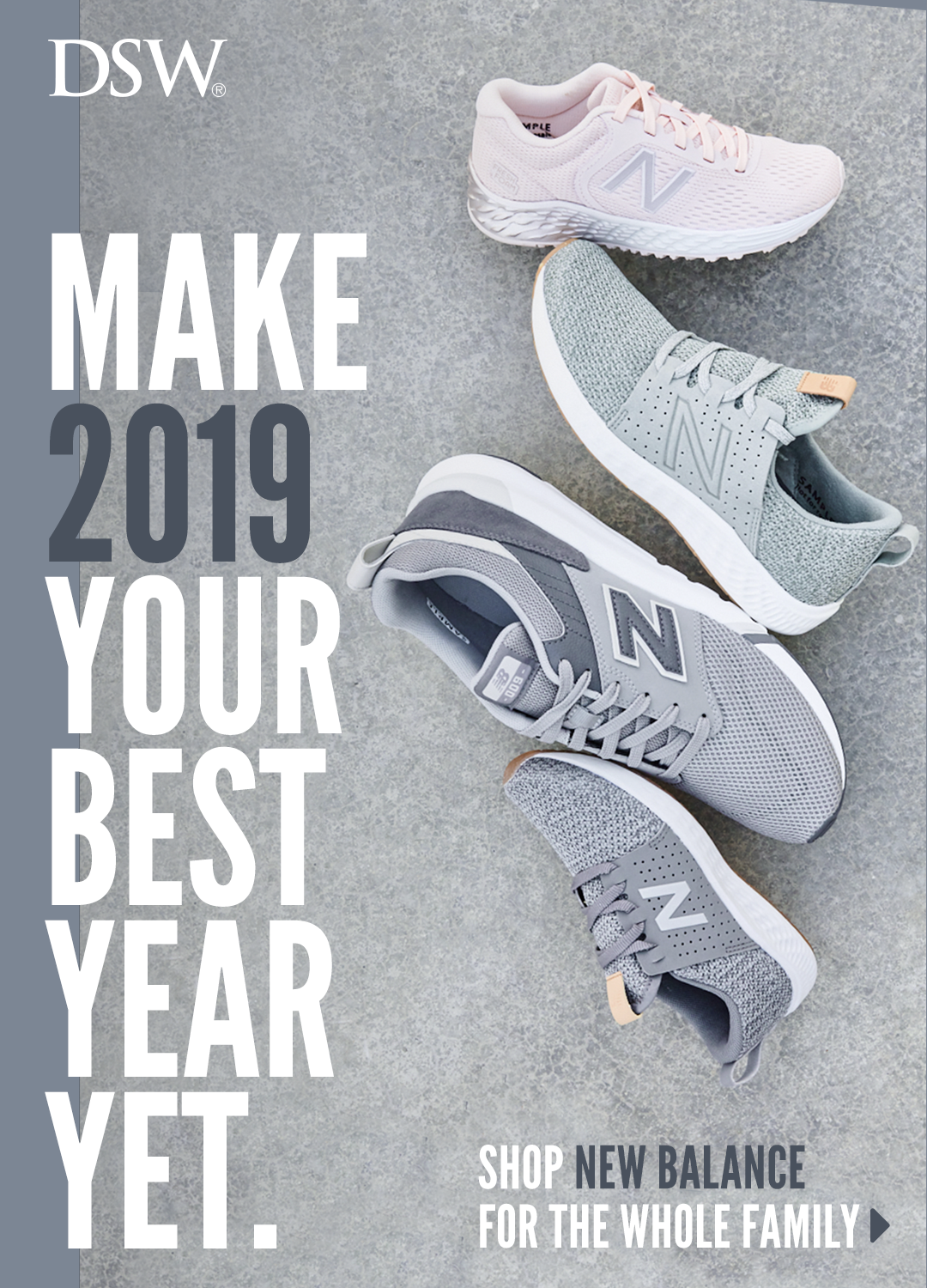 143da4acd8 Make 2019 your best year yet with sneakers from New Balance. At DSW ...