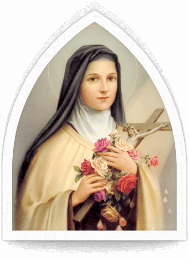 Light a candle and say a prayer Saint teresa, Thérèse of