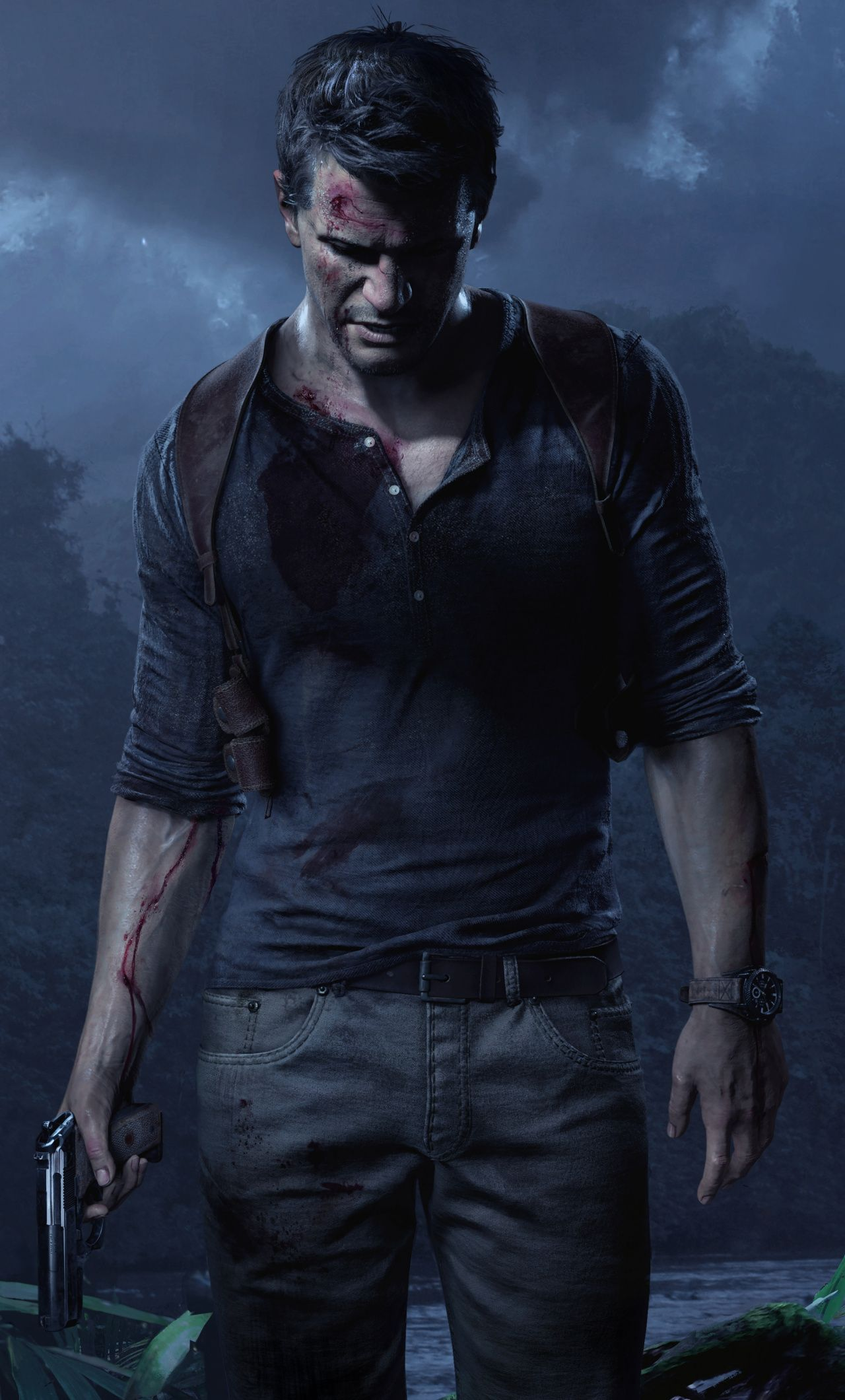Download Game Uncharted 4 A Thief S End Video Game Wallpaper For Screen 1280x2120 Iphone 6 Plus In 2020 Uncharted Game Uncharted Nathan Drake
