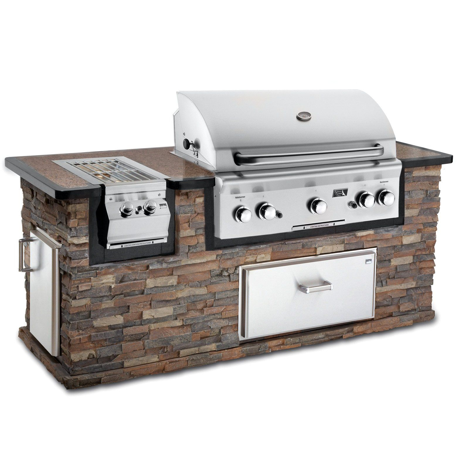Boy Toys Heck Girl Toys Love American Outdoor Grill 36 Inch Built In Gas Grill 1749 00 Built In Grill Built In Bbq Outdoor Grill