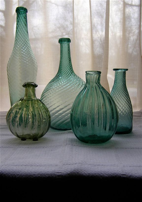 Gallery Old Glass Bottles Vintage Art Glass Glass Collection