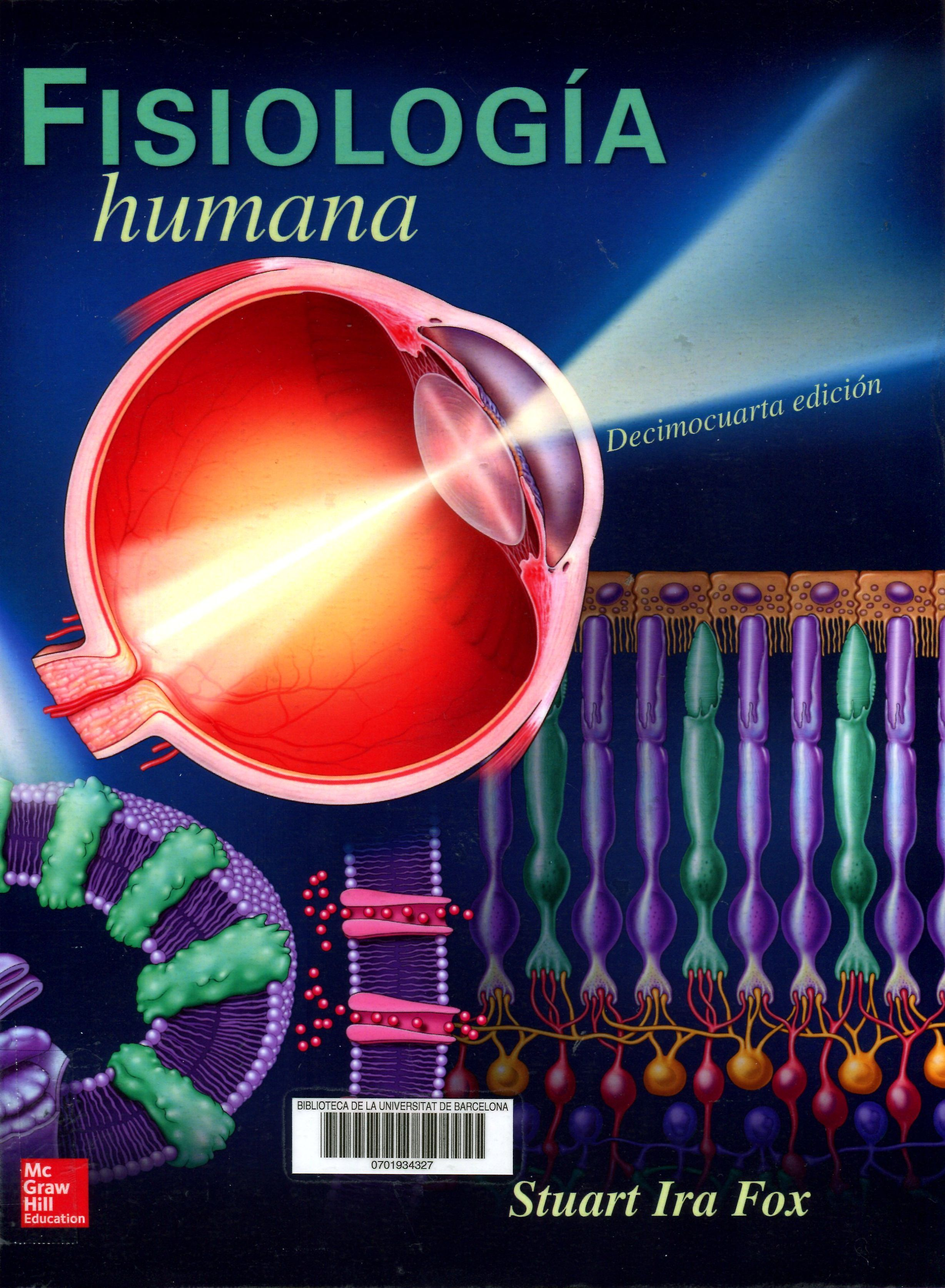 Fisiología humana / Stuart Ira Fox. Madrid : McGraw-Hill Educación ...