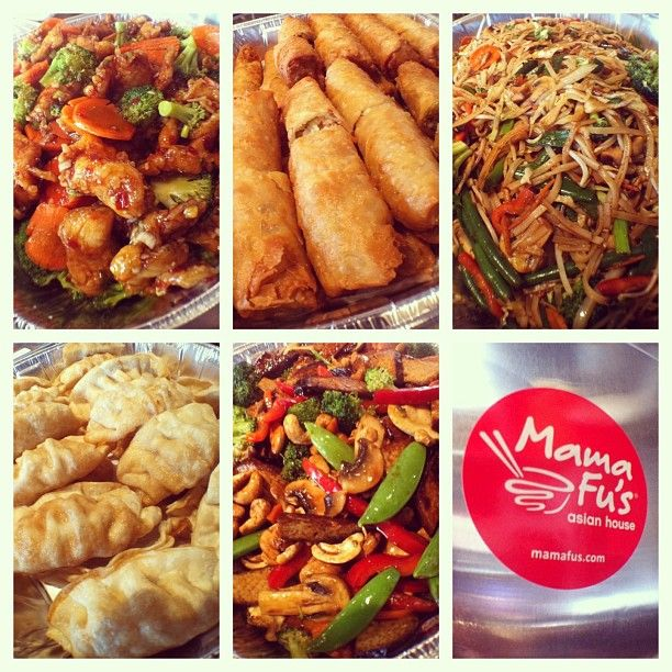 Mama Fu S Asian House On Instagram Another Fast And Fresh Mama Fu S Catering Order From Our Southpark Meadows Location To Bri Asian House Food And Drink Food