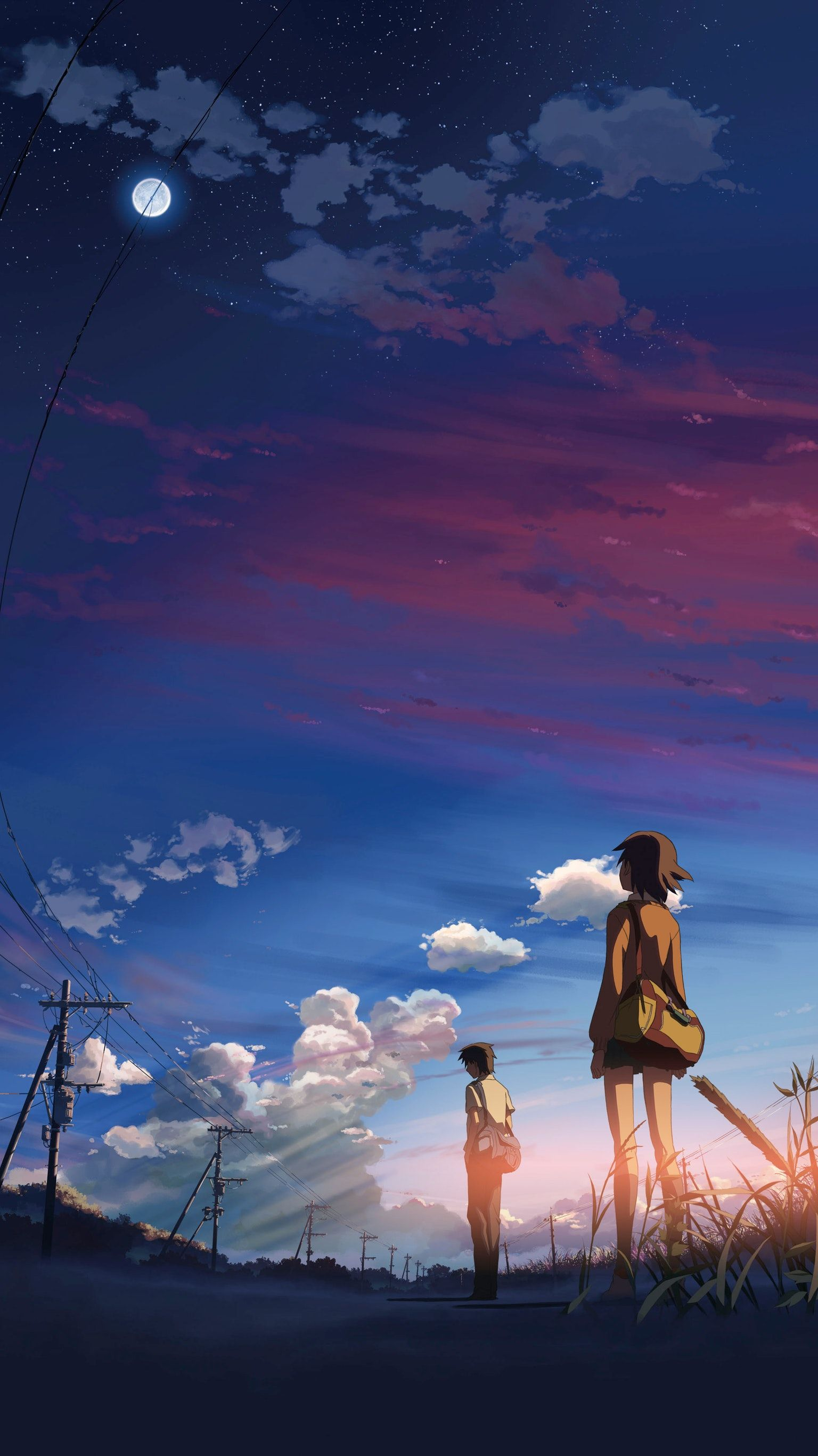 5 Cm Al Secondo Anime