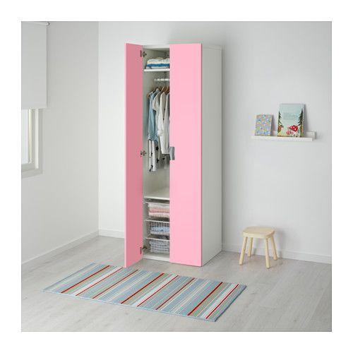 STUVA Kleiderschrank - weiß/rosa - IKEA | Girls Bedroom | Pinterest ...