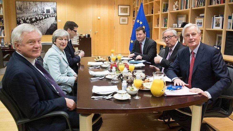 Brexit Secretary David Davis fears EU contingency plans risk - risk plans