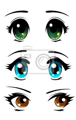 Manga Ojos Grandes Buscar Con Google Dibujos De Ojos