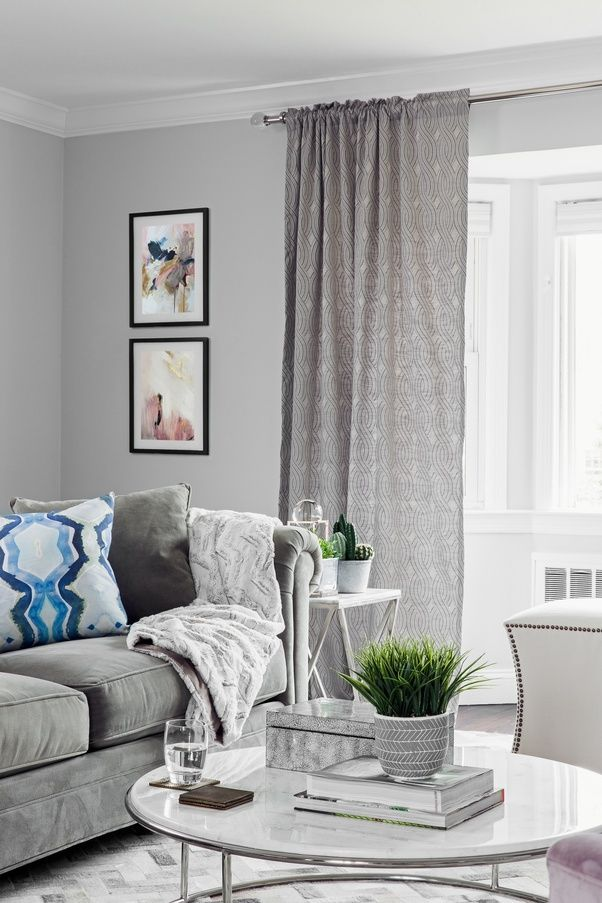 6 What Color Of Curtains Would Go Well With A Gray Colored Living Room Wall Quora Cortinas Para Sala Paredes Cinza Sala Salas De Estar Cinza