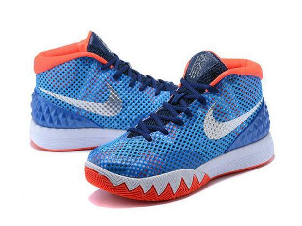 pretty nice 5972f d7d43 Nike Kyrie 1 USA Blue Red-White 705277-401
