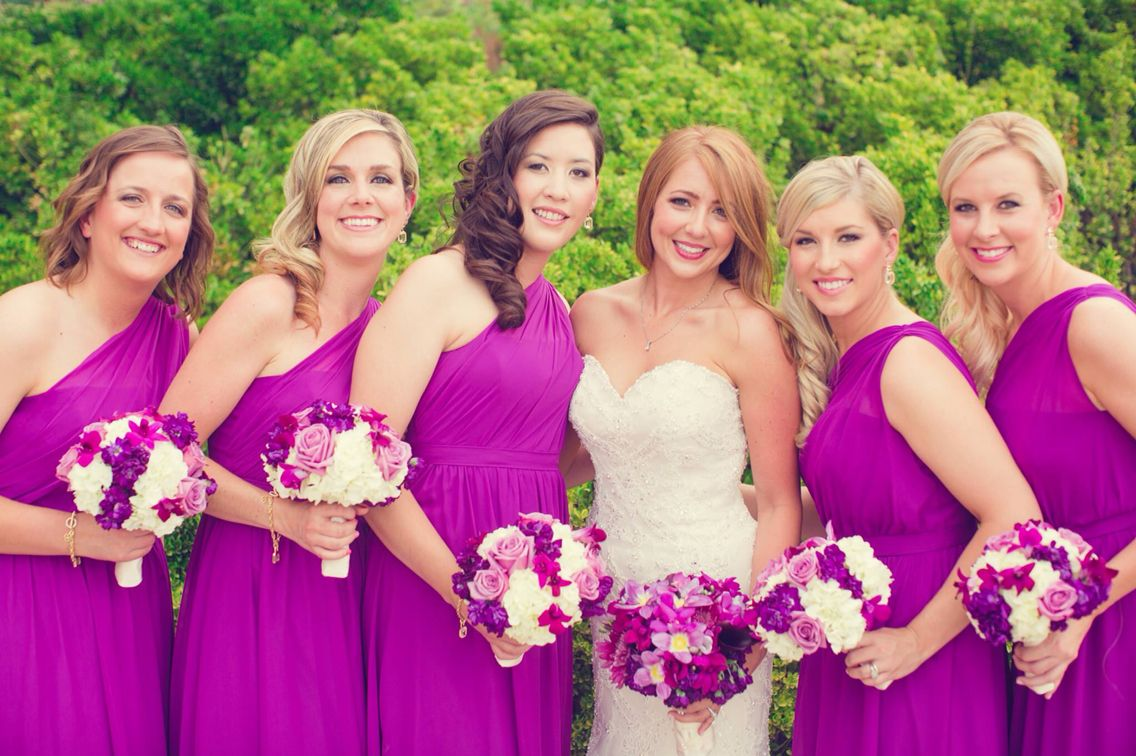 Radiant Orchid - wedding - purple flowers - summer wedding - fiore ...