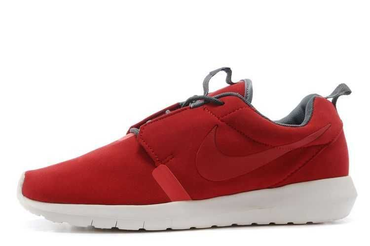 uk availability 2298e 6ec64 Visit Nike Roshe Run Anti Fur Mens 3M Reflective Red White Running Shoes