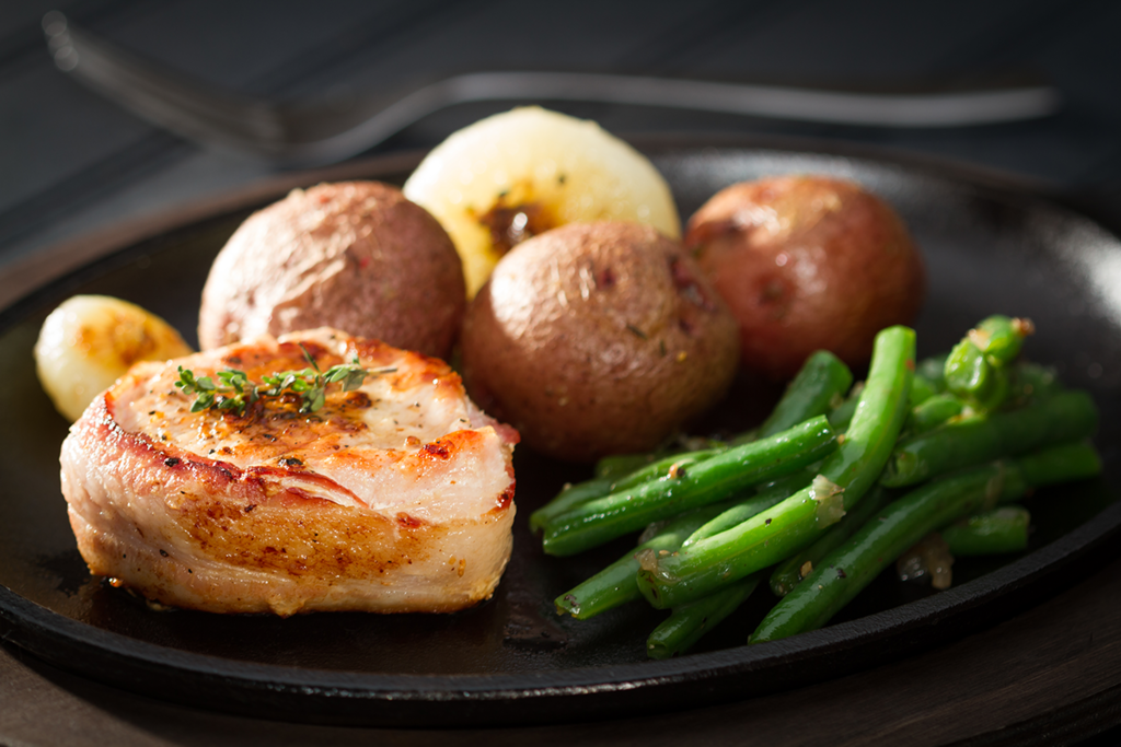"""Are you looking for an easy meal option that has some """"WOW"""" factor?  Zaycon Fresh #Bacon Wrapped Pork Tenderloin Fillets are just what you need!  We're here for ya:"""