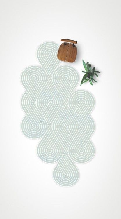 rug.  Not a square, not a circle.  Relief.