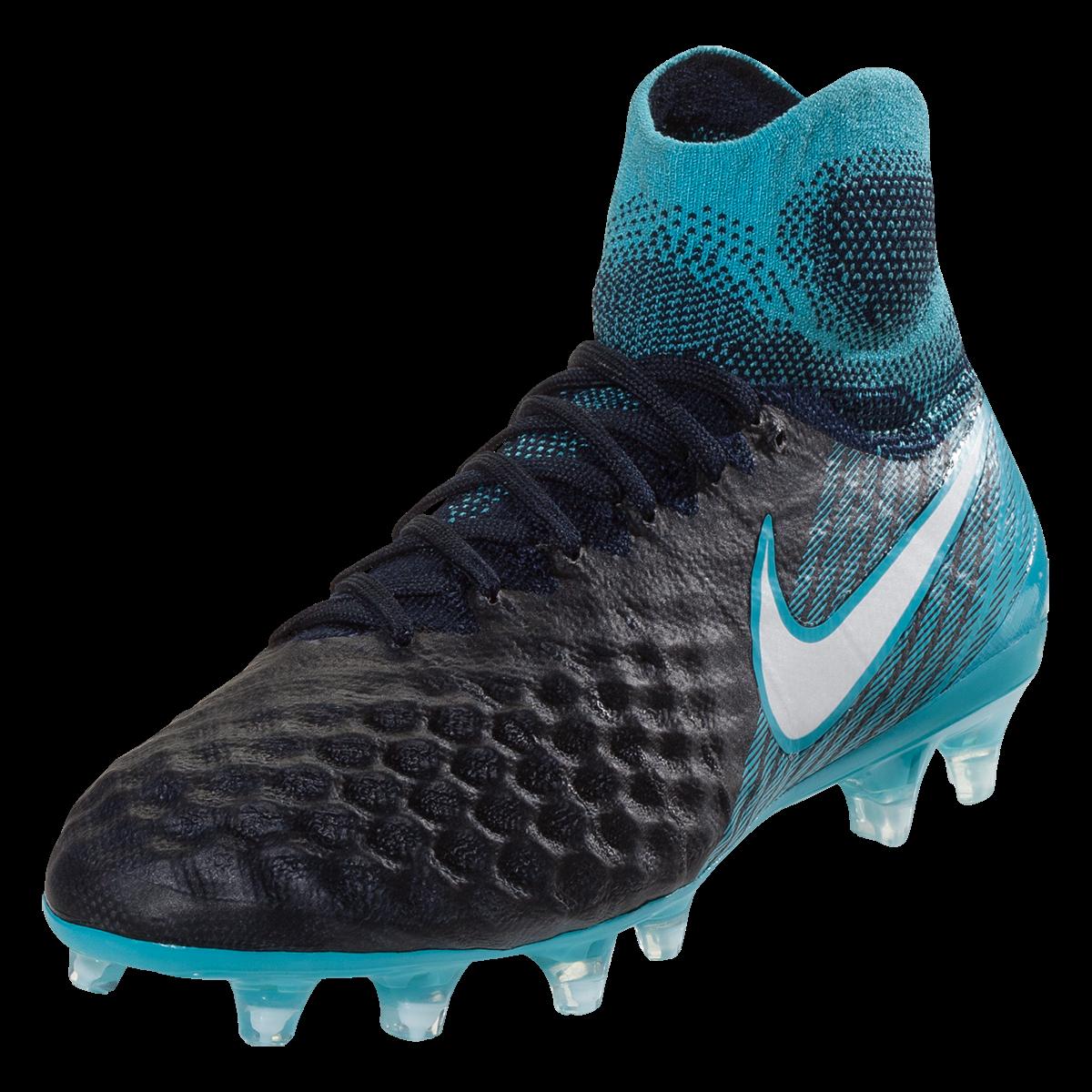 2bc7a9436a Nike Junior Magista Obra II FG Youth Soccer Cleat Thunder Blue ...