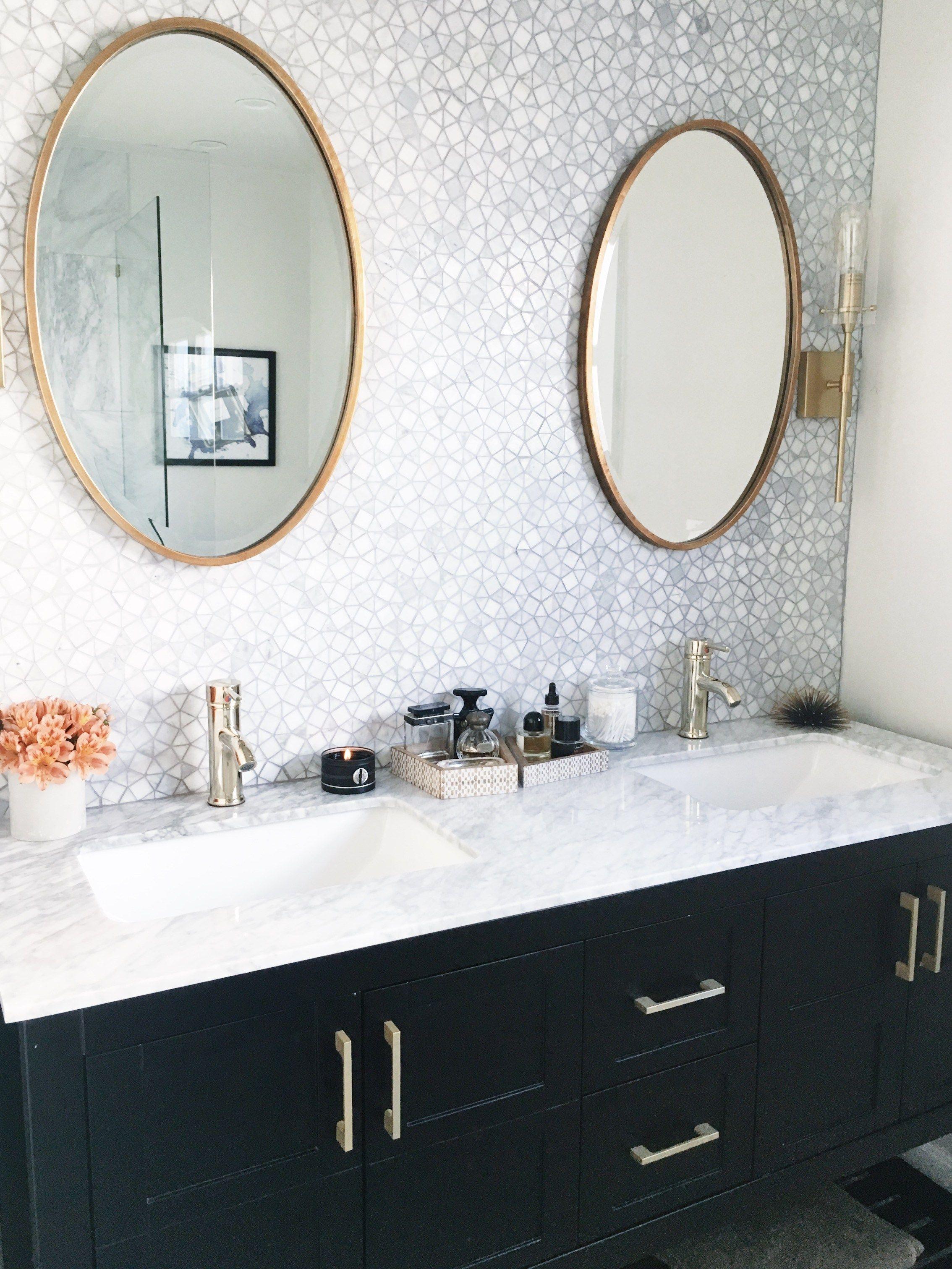 Tile obsession elegant bathroom vanity cococozy luxury