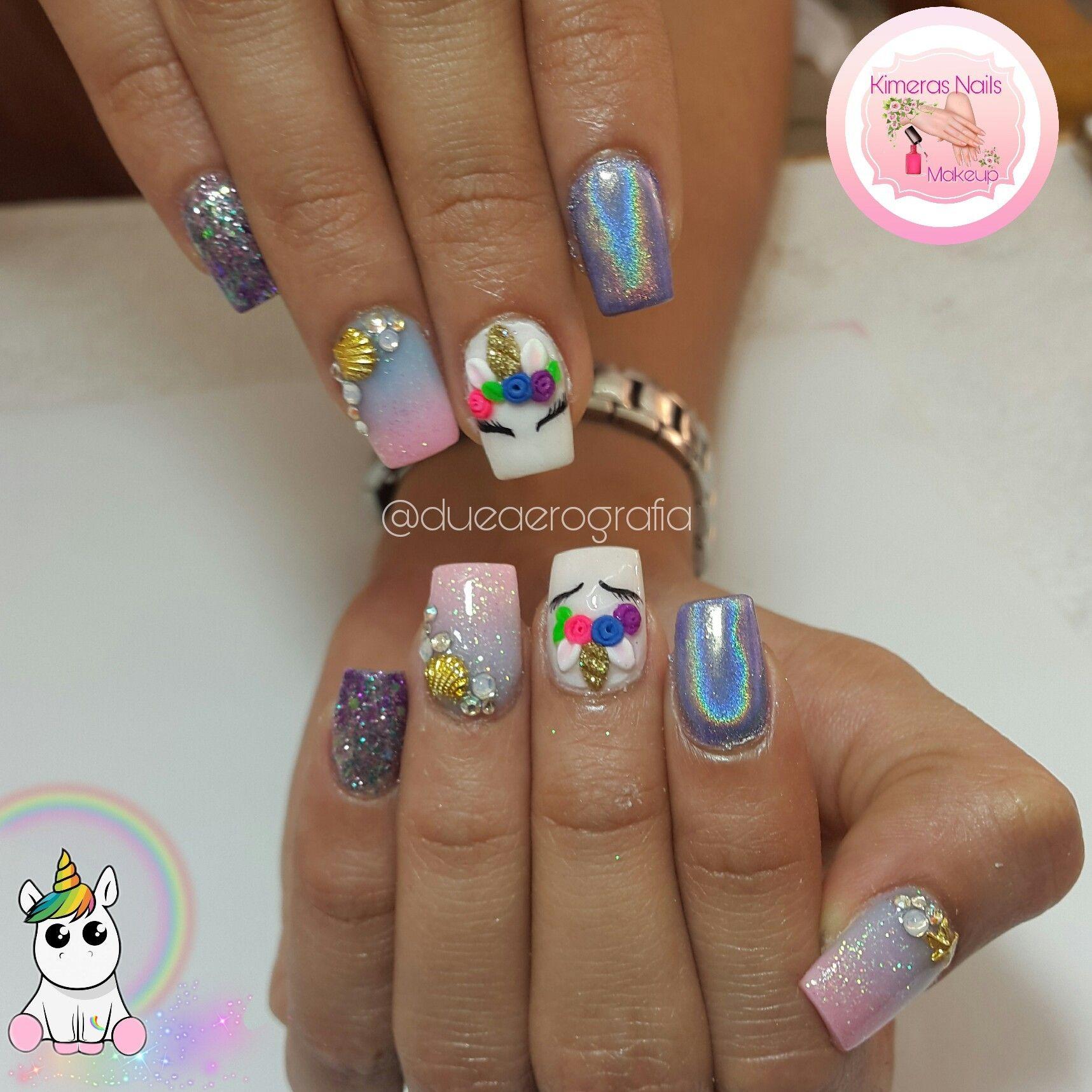 Diseño de salón #kimerasnails #dueaerografia #nails #uñas ...