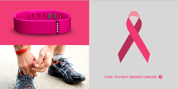 Updated: Fitbit Celebrates Breast Cancer Awareness Month With A Special Edition Pink Flex -- AppAdvice
