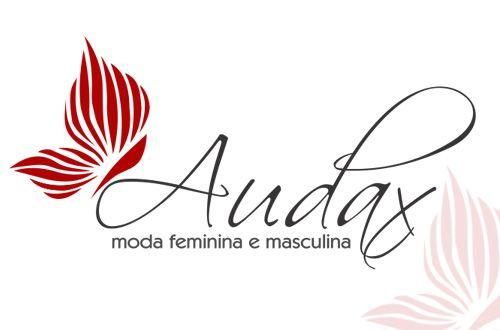 Logo para Moda Feminina e Masculina - Audax #ModaFeminina #ModaMasculina #logoParaLoja #logotipos #logos #logotipo #inspiration #logosfacil