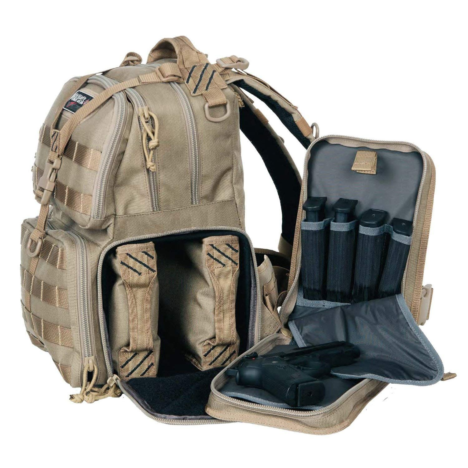 Amazon Com G P S T1612bpt Tactical Range Backpack Tan Sports Outdoors Military Tactical Backpacks Tactical Backpack L Tactical Backpack Backpacks Bags