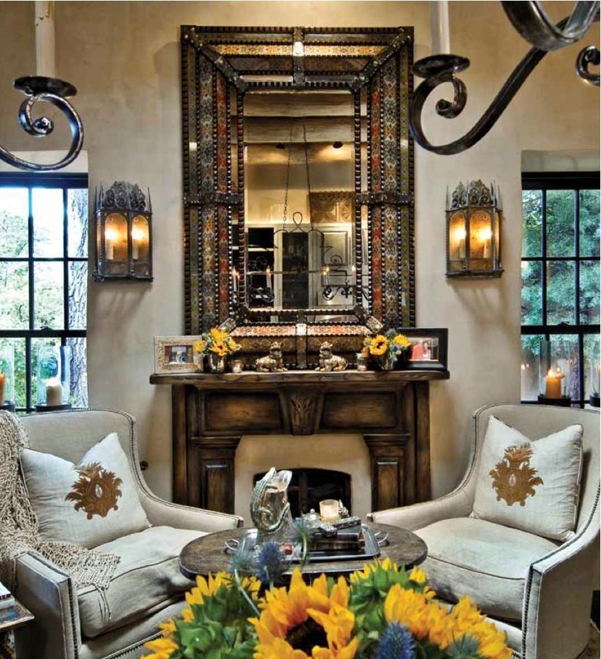 Hacienda Home Decor: Old World, Mediterranean, Italian, Spanish