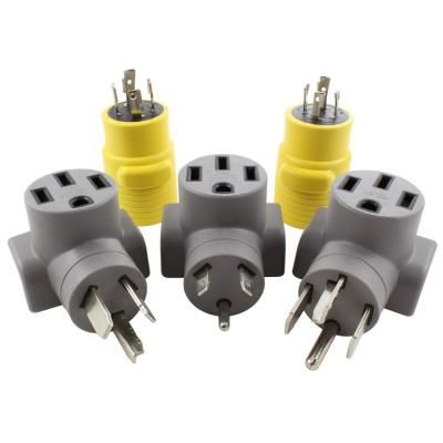 AC WORKS EV Compact Charging Kit of Adapters for Tesla Use ...