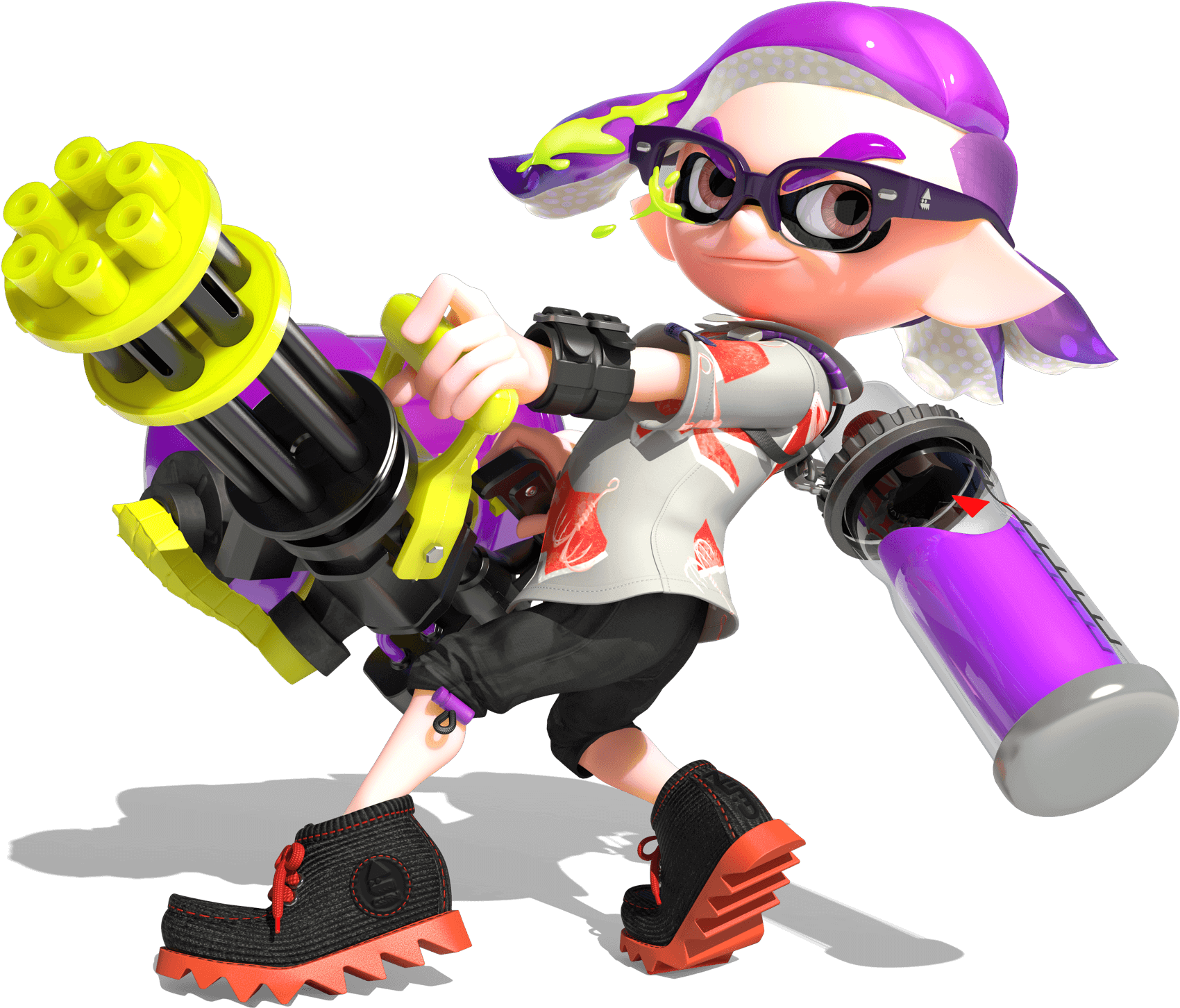 Gear Splatoon 2 for Nintendo Switch Multiplayer