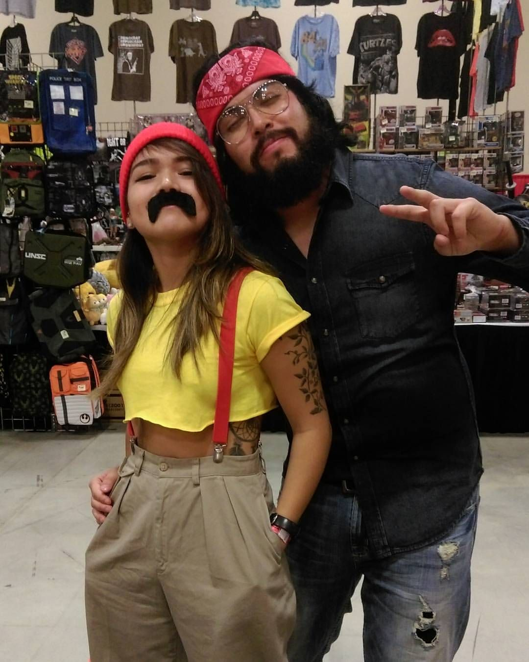 More Friday cosplay from #ACCC2016! Cheech and Chong ...