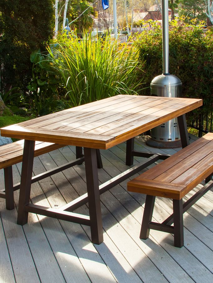 Carlisle Outdoor Dining Set (4 PC) from Outdoor Blowout: Last Chance on Gilt