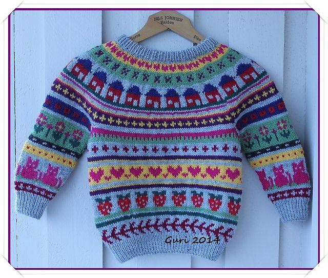 Ravelry: Guri-genser pattern by Guri Østereng Halvorsen. Free ...