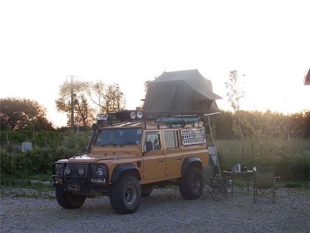 landrover 110 expedition - Google Search | expedition vehicle ideas