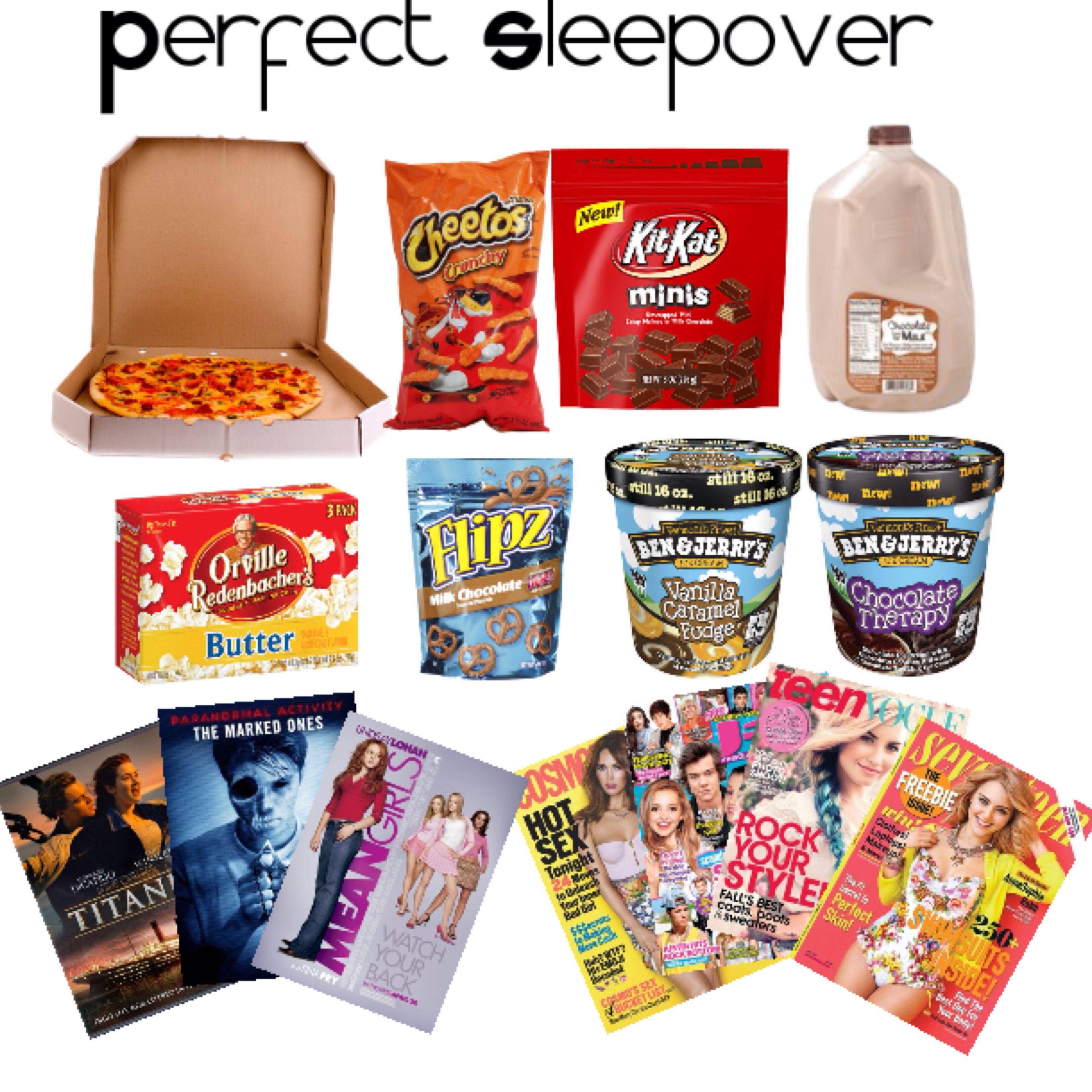 Sleepover Essentials (Sleepover)