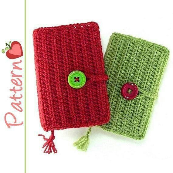 Book Cover Forros Zega ~ Simple tejido pinterest forros para celulares