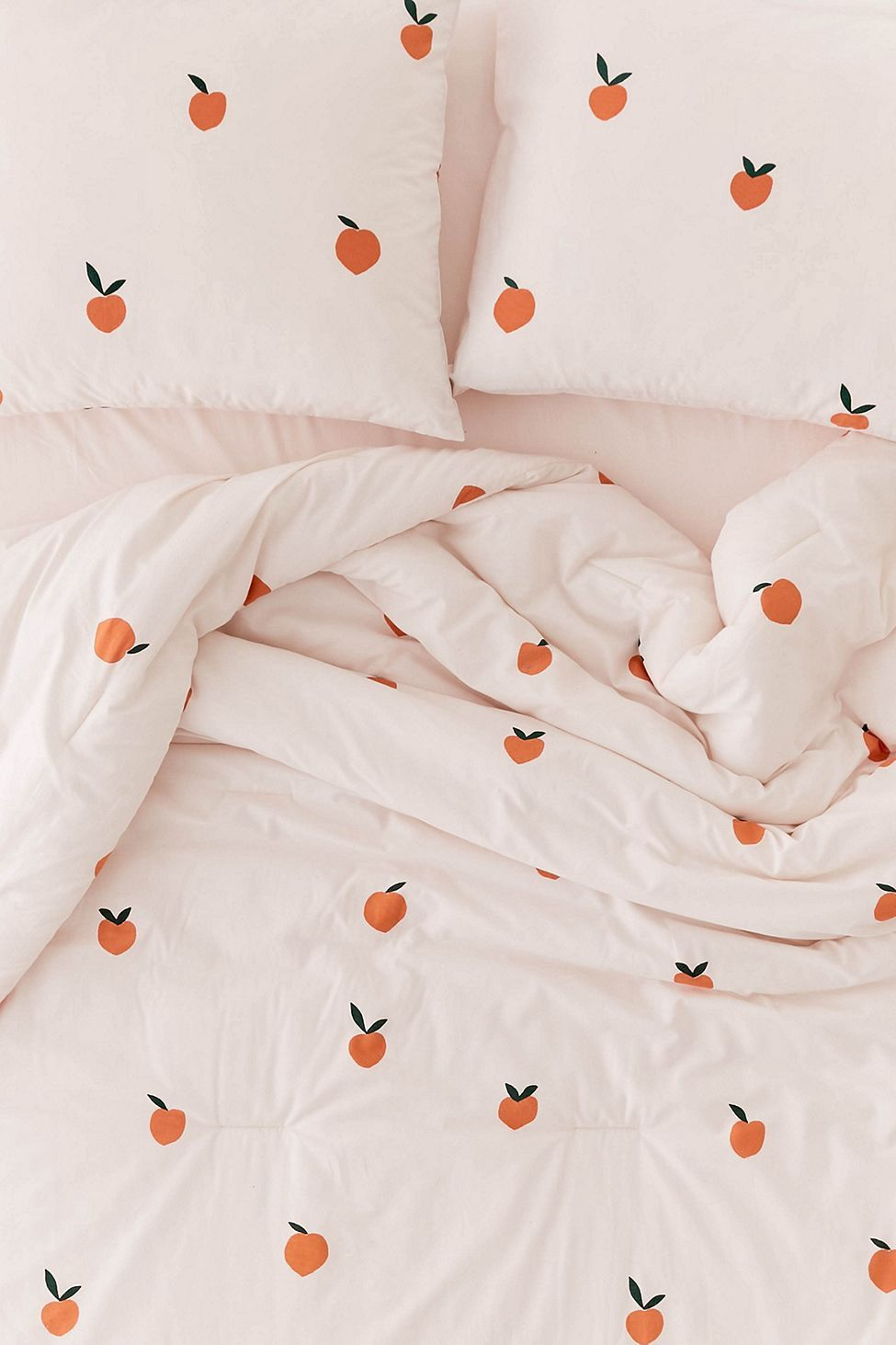 Urban Outfitters Peaches Comforter Snooze Set Twin Xl Bed Decor Aesthetic Bedroom