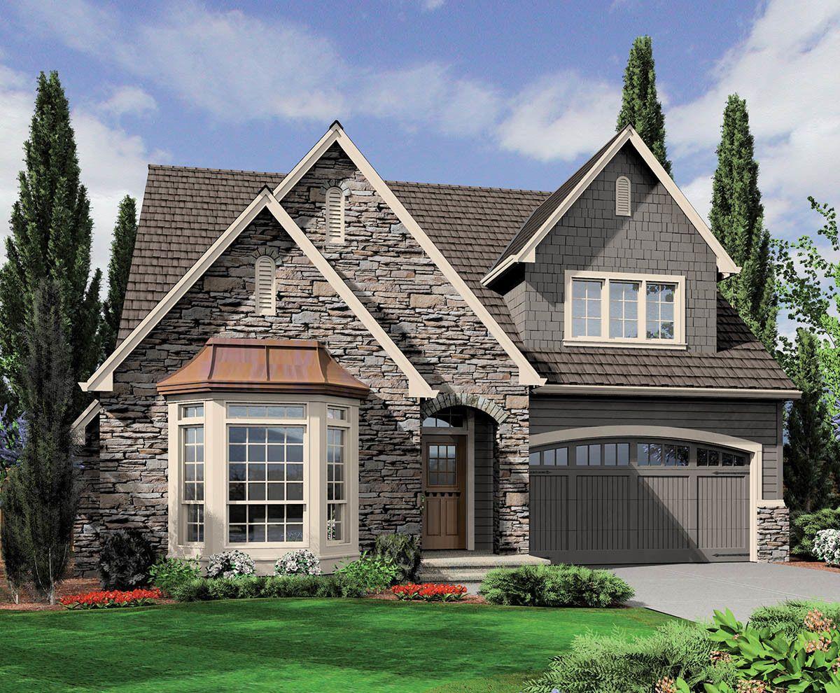 Plan 69007am Quaint Comfortable Family Home Plan Family House Plans Cottage Plan Cottage Floor Plans