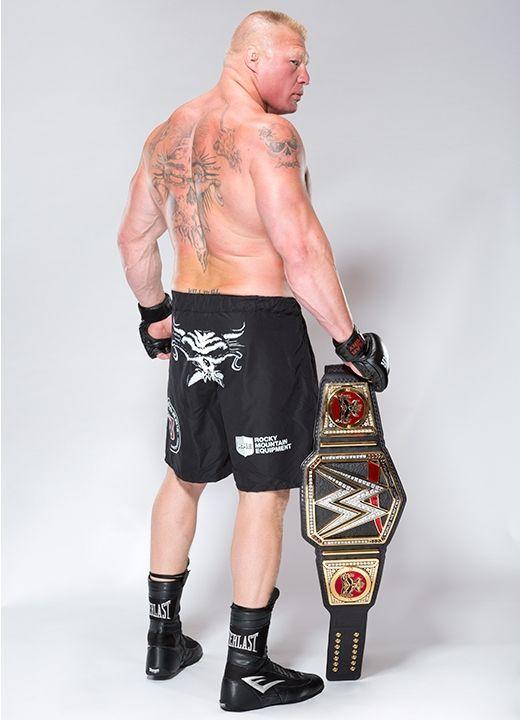 WWE World Champion Brock Lesnar