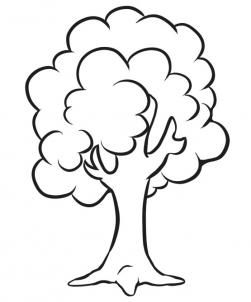How To Draw A Simple Tree Step By Step Trees Pop Culture Free Clipart Best Tree Drawing Simple Tree Coloring Page Tree Drawings Pencil