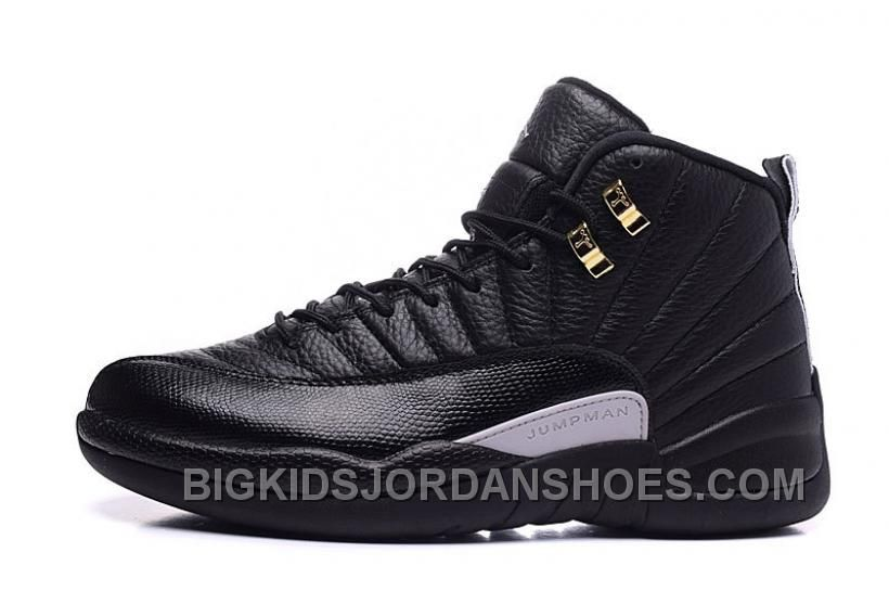 "d1ac58dbee5 Air Jordans 12 ""The Master"" Black/Rattan-White-Metallic Gold 2016 Free  Shipping"