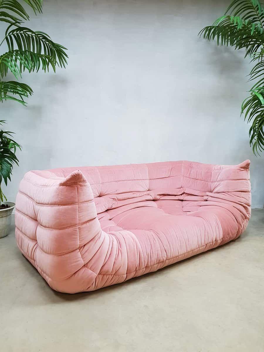 Vintage Design Sofa Love Seat Lounge Bank Togo Ligne Roset M