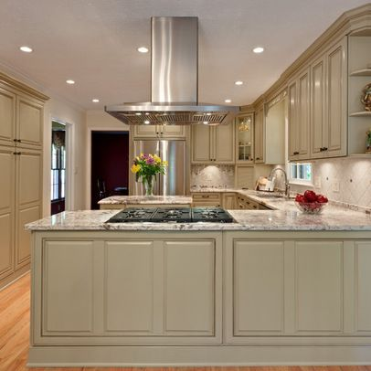 Kitchen peninsula with stove in it google search - Kitchen peninsula with stove ...